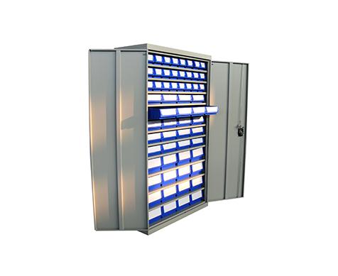 多功能物料盒置物柜(图1)