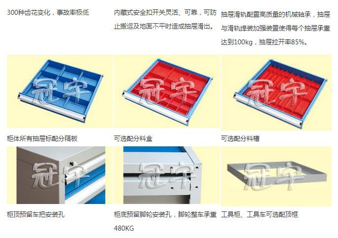 组合工具柜XE90-2SMG(D)(库存品)(图2)