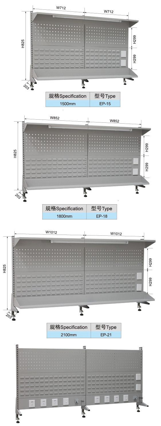 E-XBG1575单轨工作台(库存品)(图2)