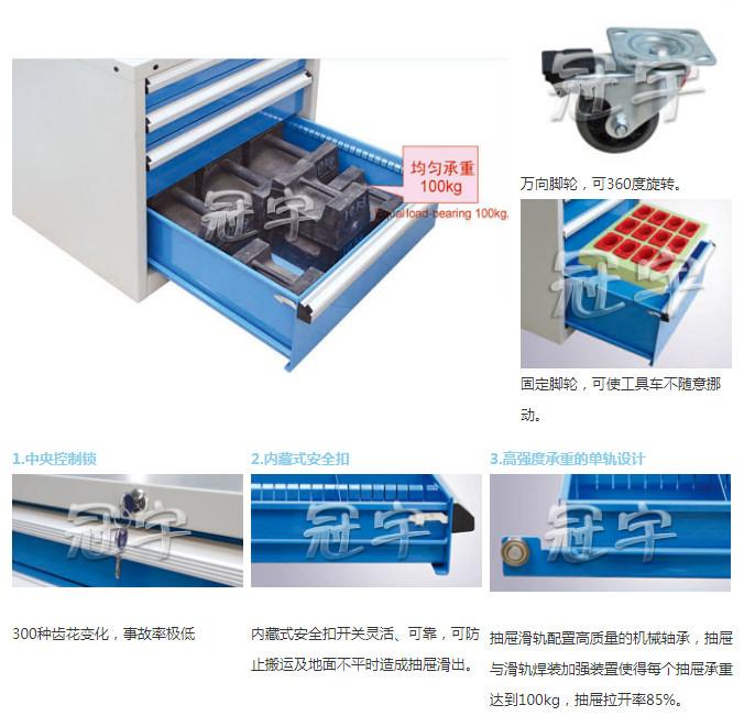 XB70-4SMG加重型工具柜(图1)
