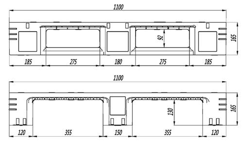 GY-11111DCW-01 网格川字托盘(图2)