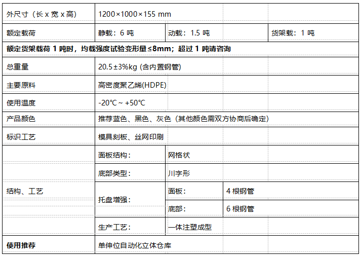 GY-1210DCW-02 网格川字托盘(图1)