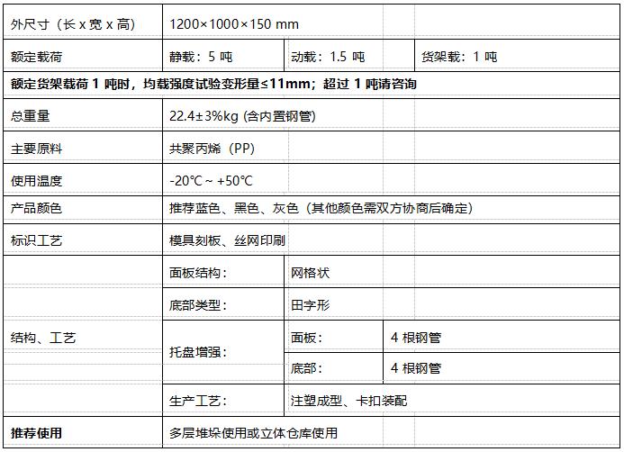 GY-1210DTW-01 平板田字托盘(图1)