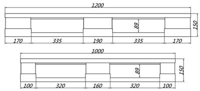 GY-1210DTW-01 平板田字托盘(图2)