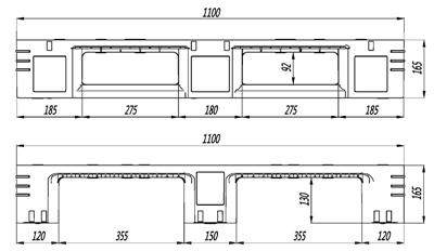 GY-11111DCW-02 网格川字托盘(图2)